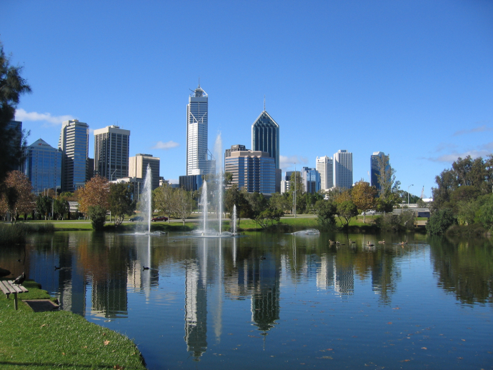 Perth is the sunniest capital of Australia. Do not miss Swan River while your stay in the city!